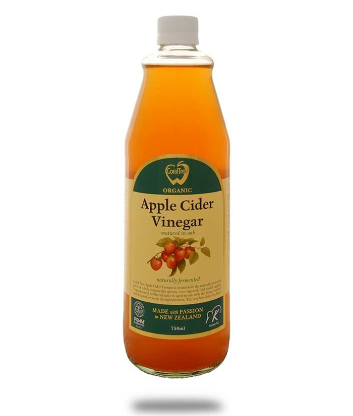CoralTree Apple Cider Vinegar bottle
